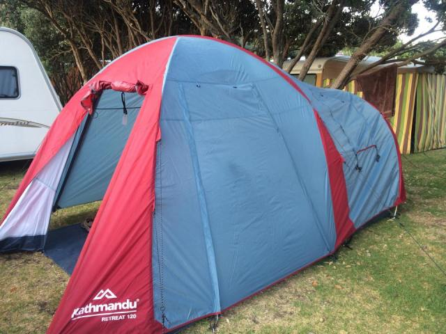 Piha Beach Tent Laurent Law